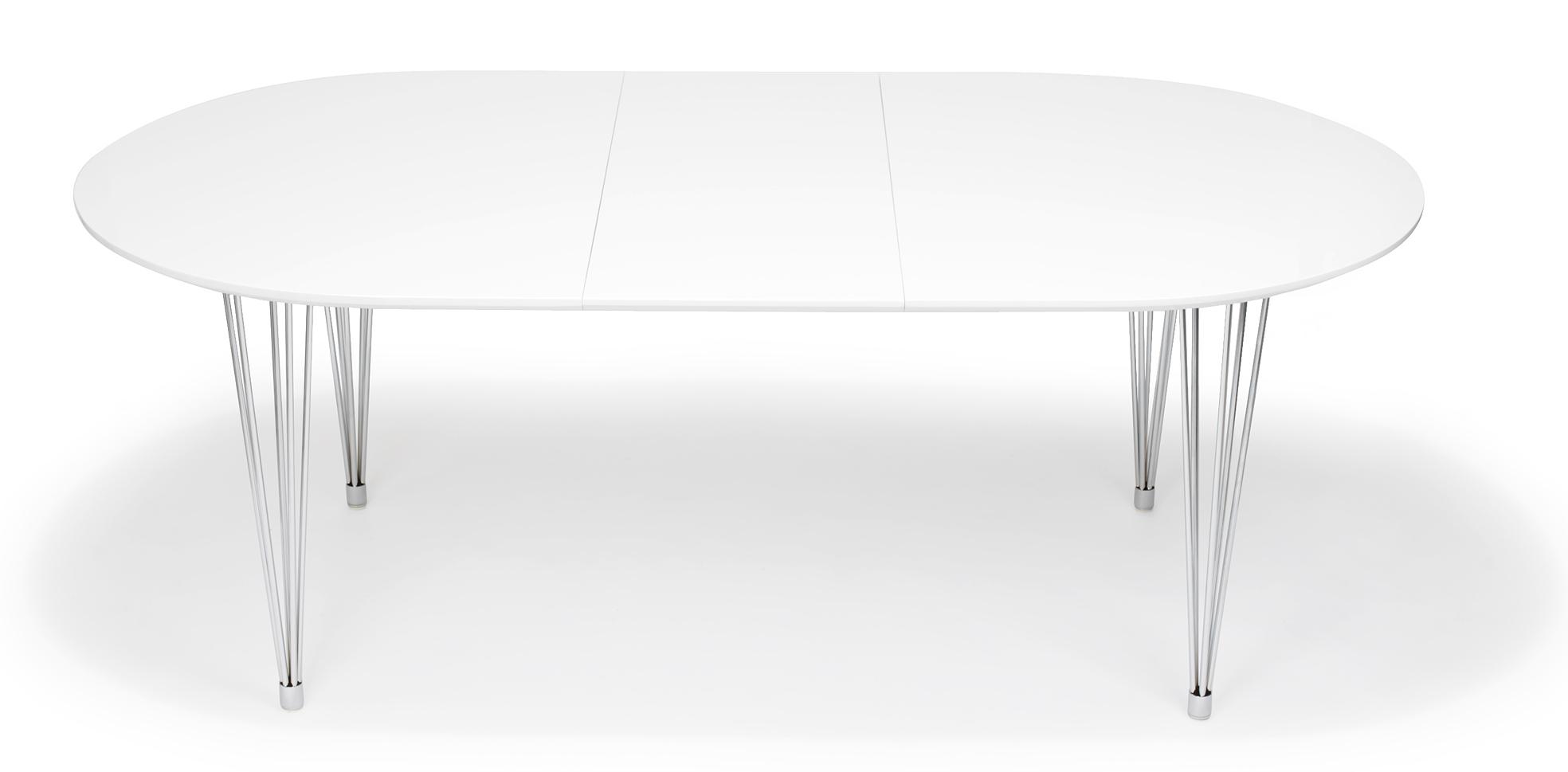 Vitt Koksbord : vitt koksbord  koksbord,vitt,matplats,pinnstol,secondhand,runt bord
